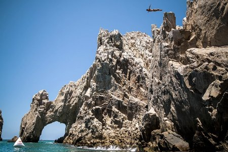 A Pro Cliff Diver's Guide to Jumping Into the Pool