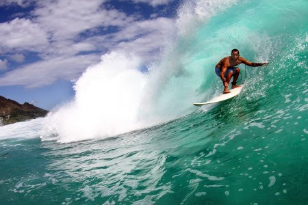Around the World With … Pro Surfer Kaipo Guerrero