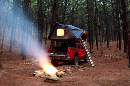 Kerouac-Inspired Rooftop Tent Seeks Mad Ones. Apply Within.