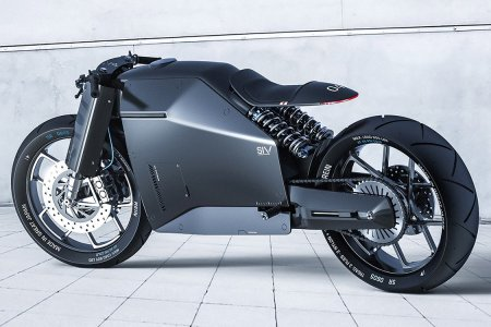 Clean and Minimalist, This 'Samurai' Moto Is Sharper Than Any Sword