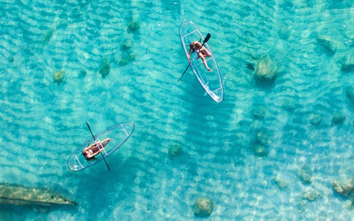 Transparent Kayaks: Like VR Goggles, Just Real-Life-ier