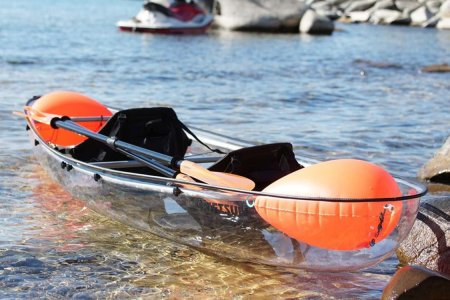 Kayak? Canoe? Who Gives a Sh*t? It's See-Through.