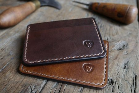 Every Wallet Should Be Saddle-Stitched by an English Master Leathersmith