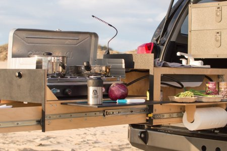 Portable Tailgate Rig Has Everything, Including the Kitchen Sink