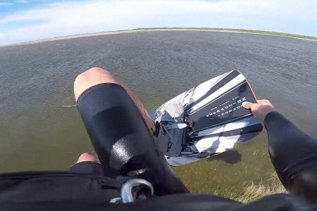 Someone Needs to Remind This Kitesurfer How Humans Work