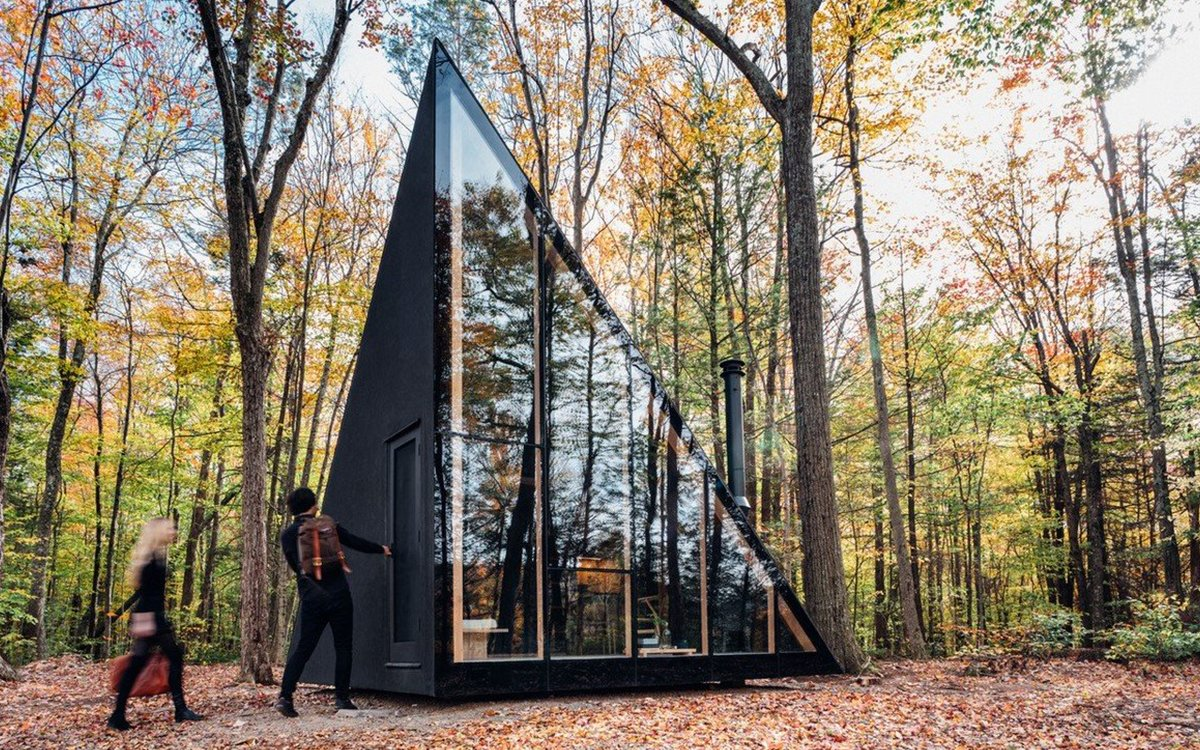 The A45 Is a Cavernous, Modern Take on the A-Frame Cabin