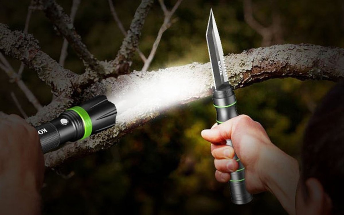 Here's a Flashlight You Can Fight Bears With