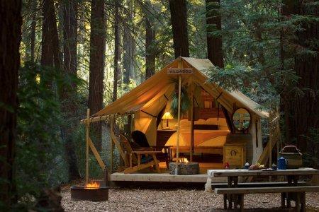 Big Sur's Swankiest Resort Opened a Campsite, and It's Bananas