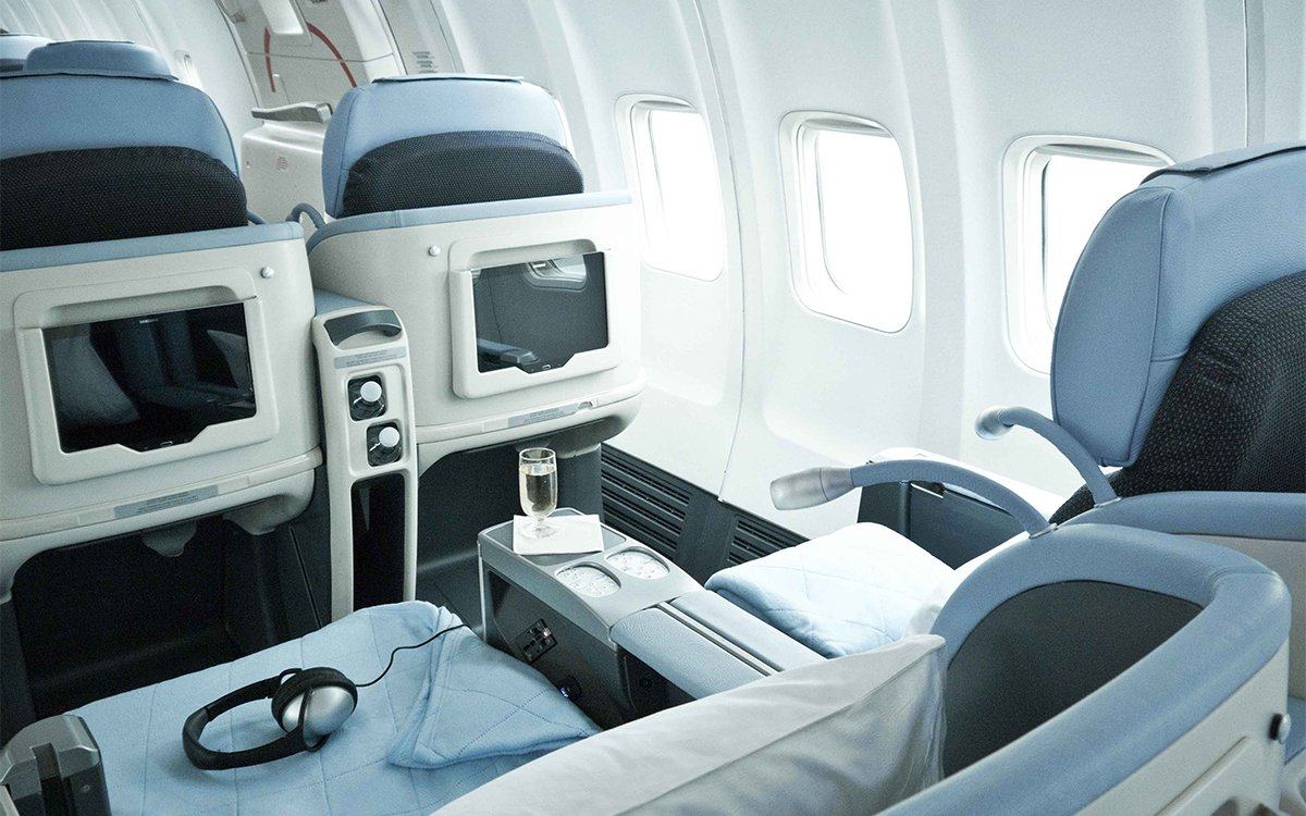 Meet the Airline Offering Unlimited Flights in Biz Class