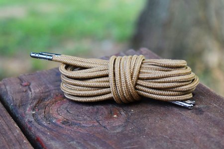 These Boot Laces Are Built to Withstand Forest Fires, Machetes