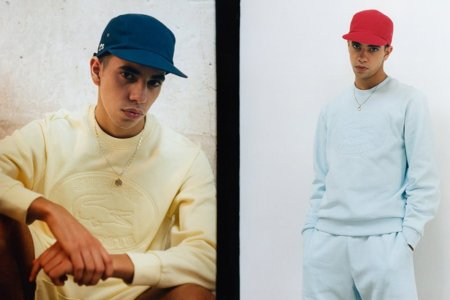 Lacoste and Supreme Are Making Tennis Clothes for Aspiring B-Boys Now