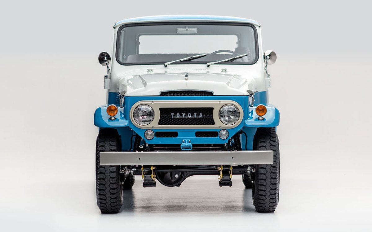 This 1967 Toyota Land Cruiser Is So Pretty It'll Break Your Heart