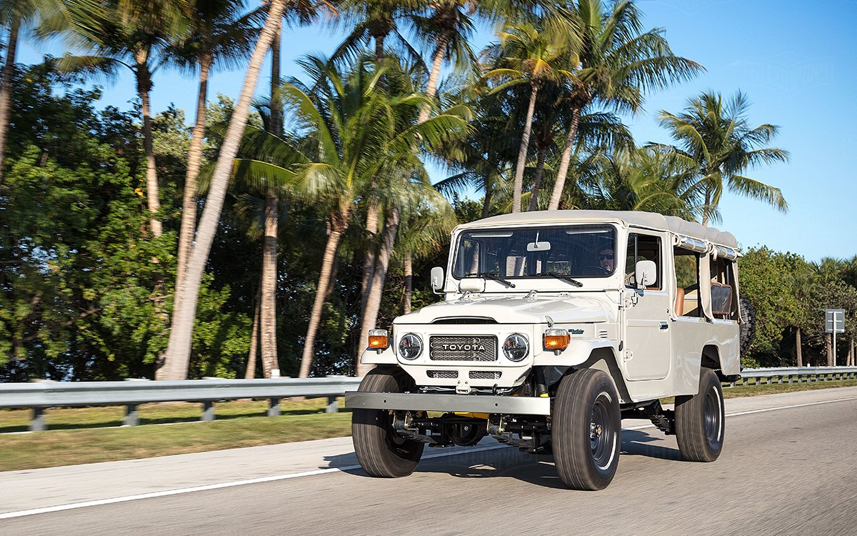 This Custom 13-Seat Land Cruiser May Have Been Used to Hunt Colombian Cartels