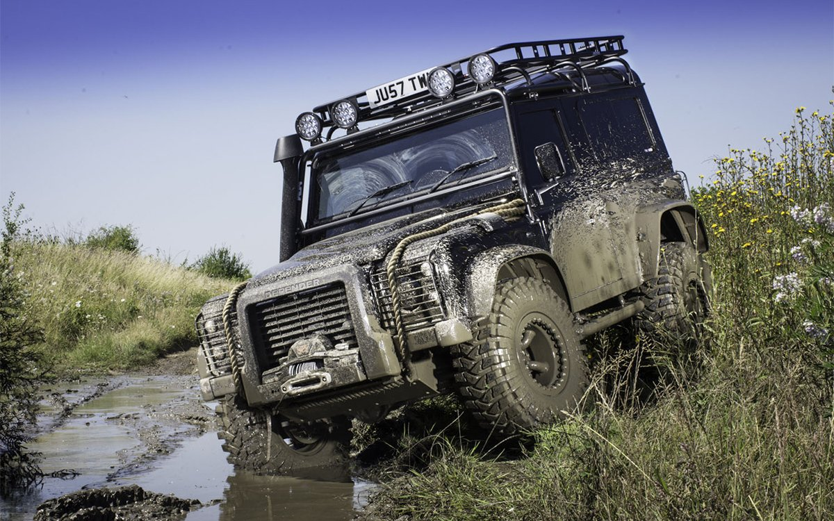Land Rover Defender from Spectre by Tweaked Automotive