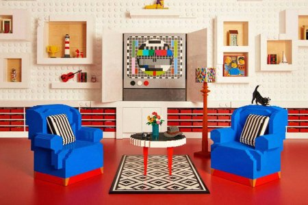 Ready to Spend the Night in a Home Made Entirely of Legos?