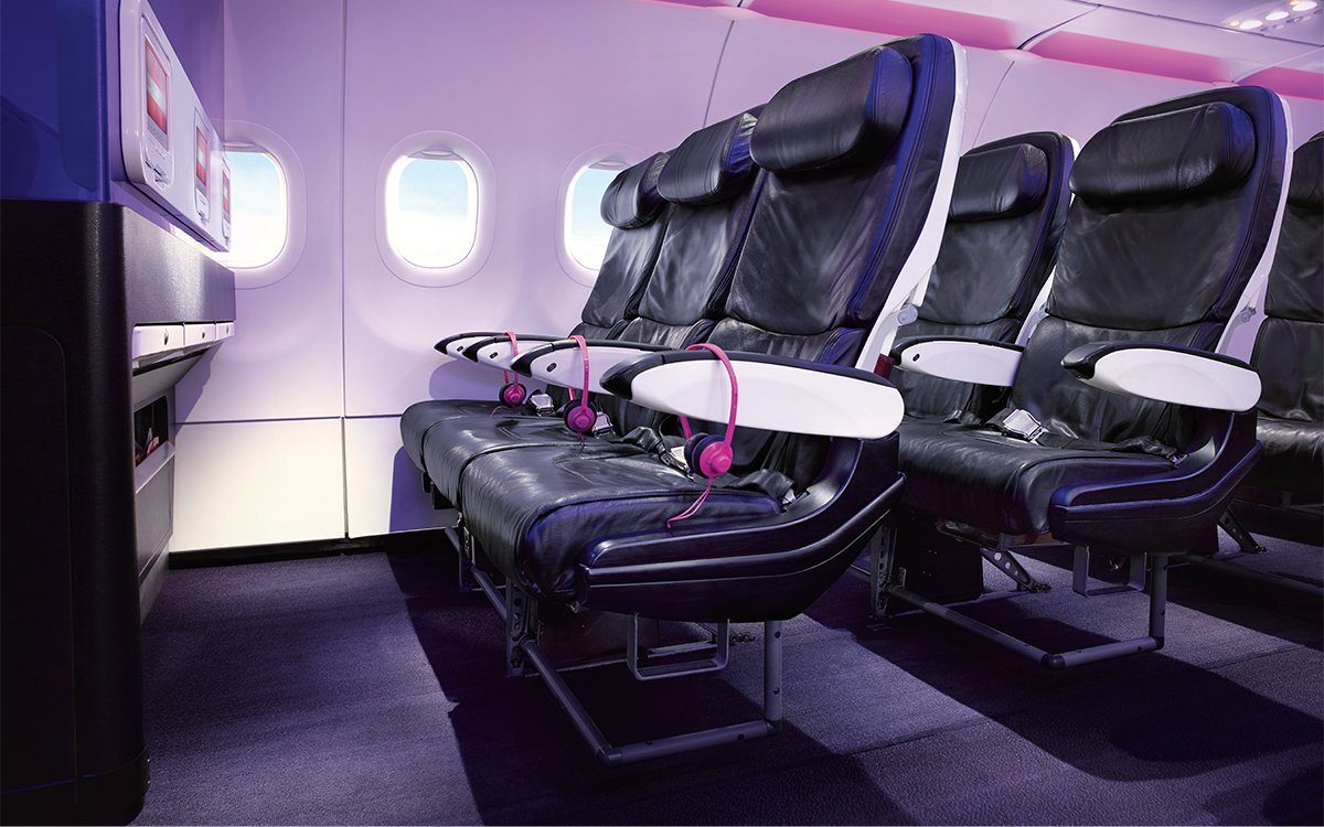 Which Airlines Give You the Most (and Least) Legroom, in One Visual