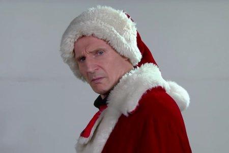 Meet Liam Neeson, Mall Santa
