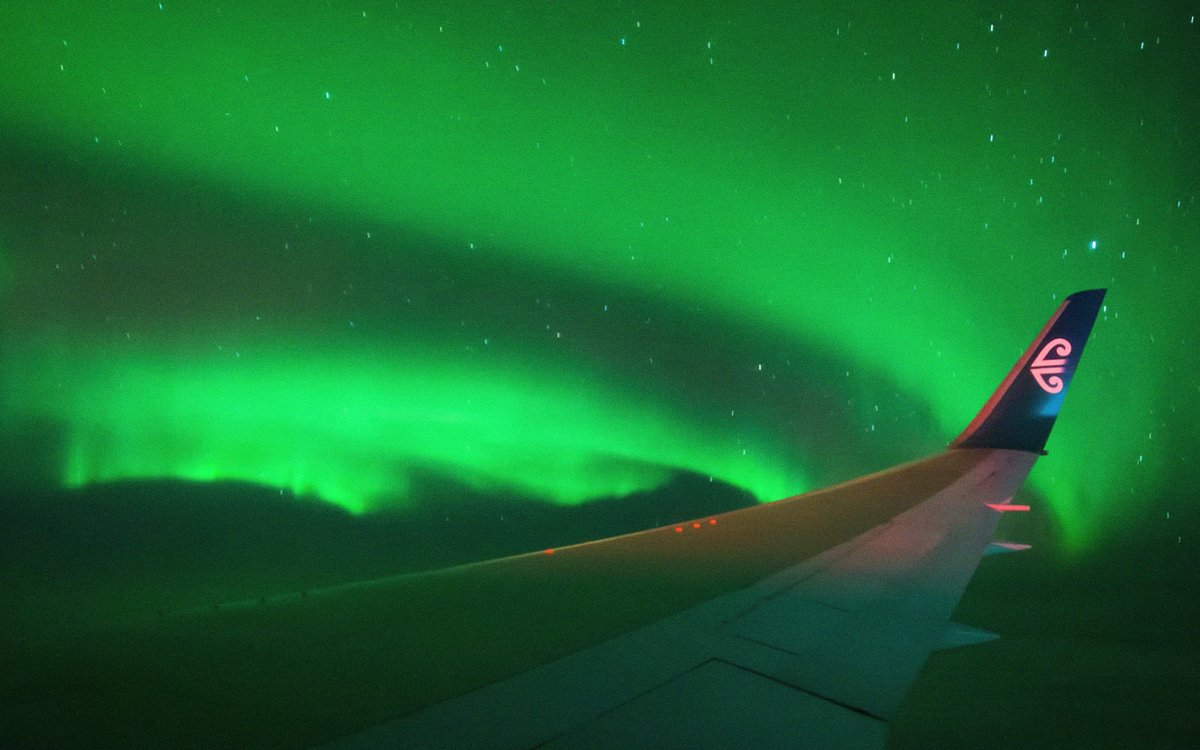 You Can Now Charter a Flight Straight Into the Belly of an Aurora