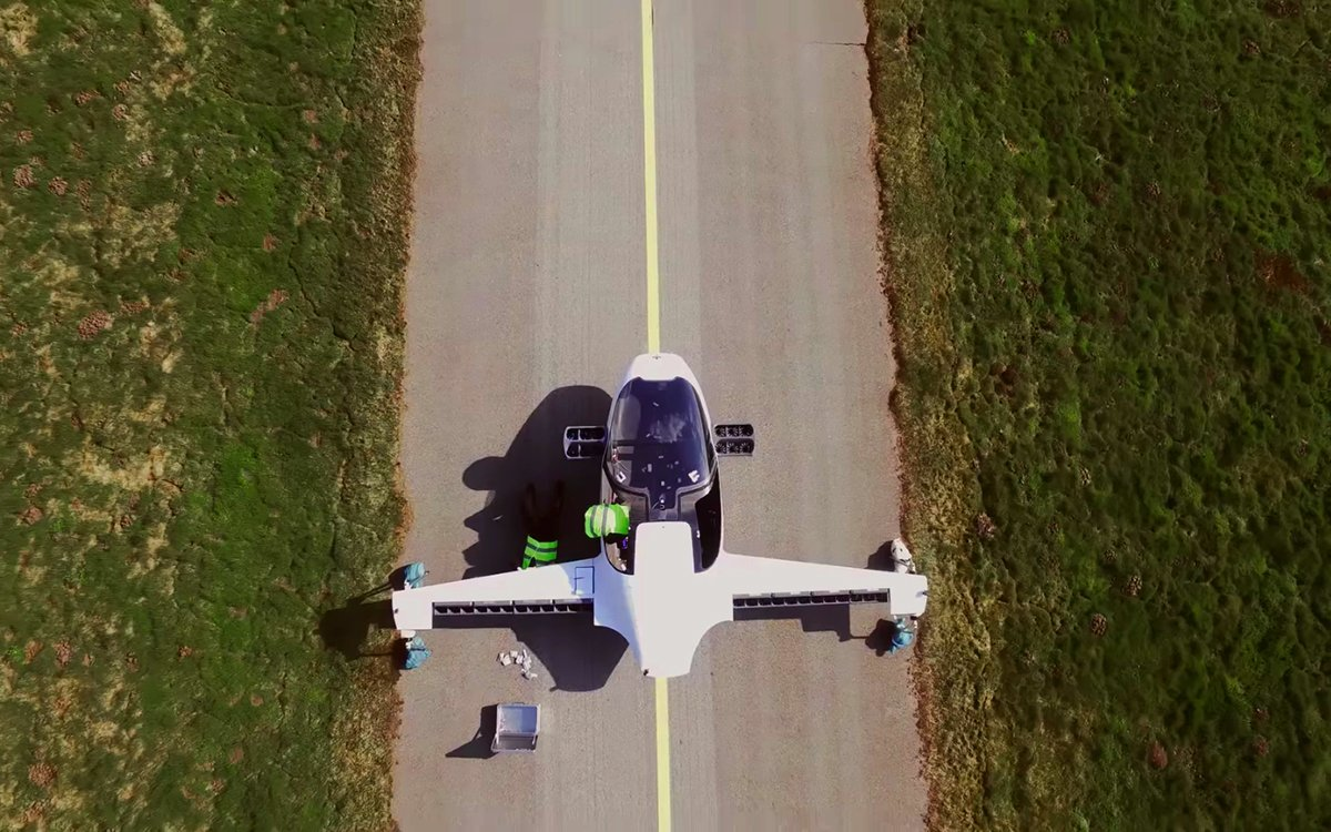 Watch Your Future Flying Taxi Take Its Maiden Flight