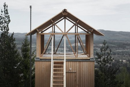 Upon Closer Inspection, This Swedish Loft Cabin Is Probably Heaven