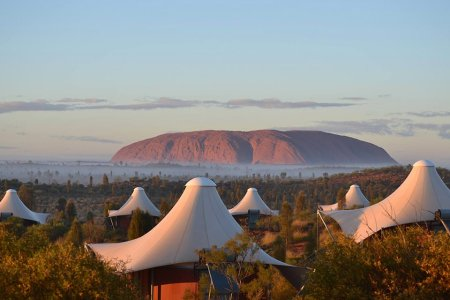 Mirage, or Bananas Wilderness Camp in the Middle of the Outback?