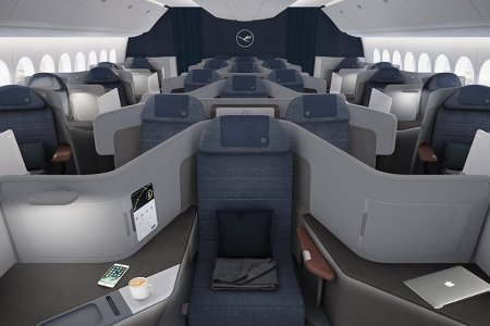 Lufthansa Just Announced 7-Foot Business-Class Beds