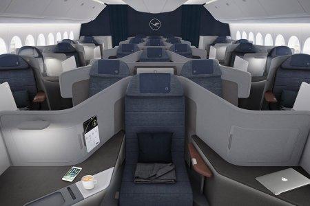 Lufthansa Just Announced 7-Foot Business-Class Beds