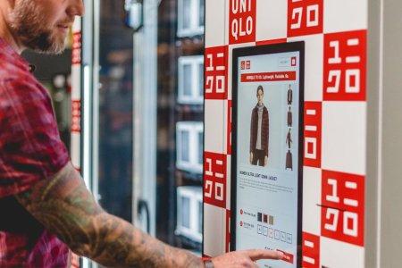 A Uniqlo Vending Machine? Genius.