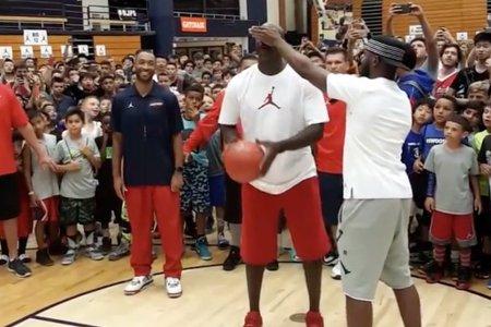 Professional Dream Crusher Michael Jordan Just Ruined These Kids' Summer