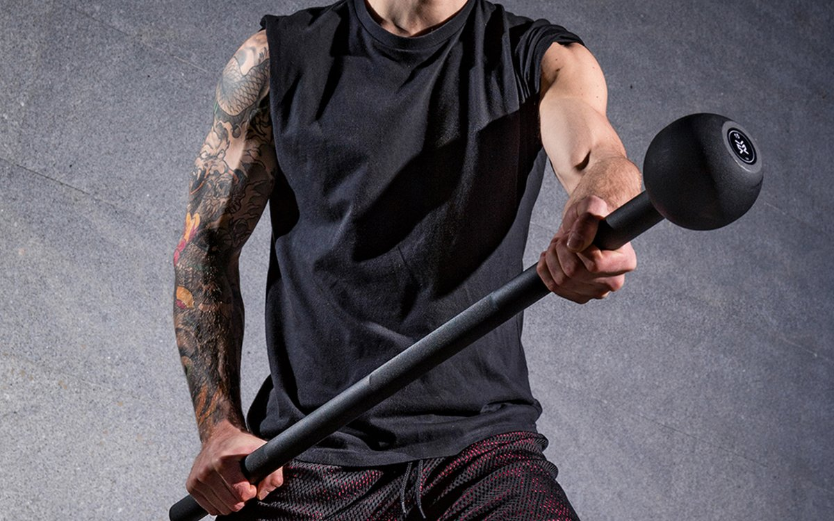 This Giant Steel Mace Is Coming to a Gym Near You