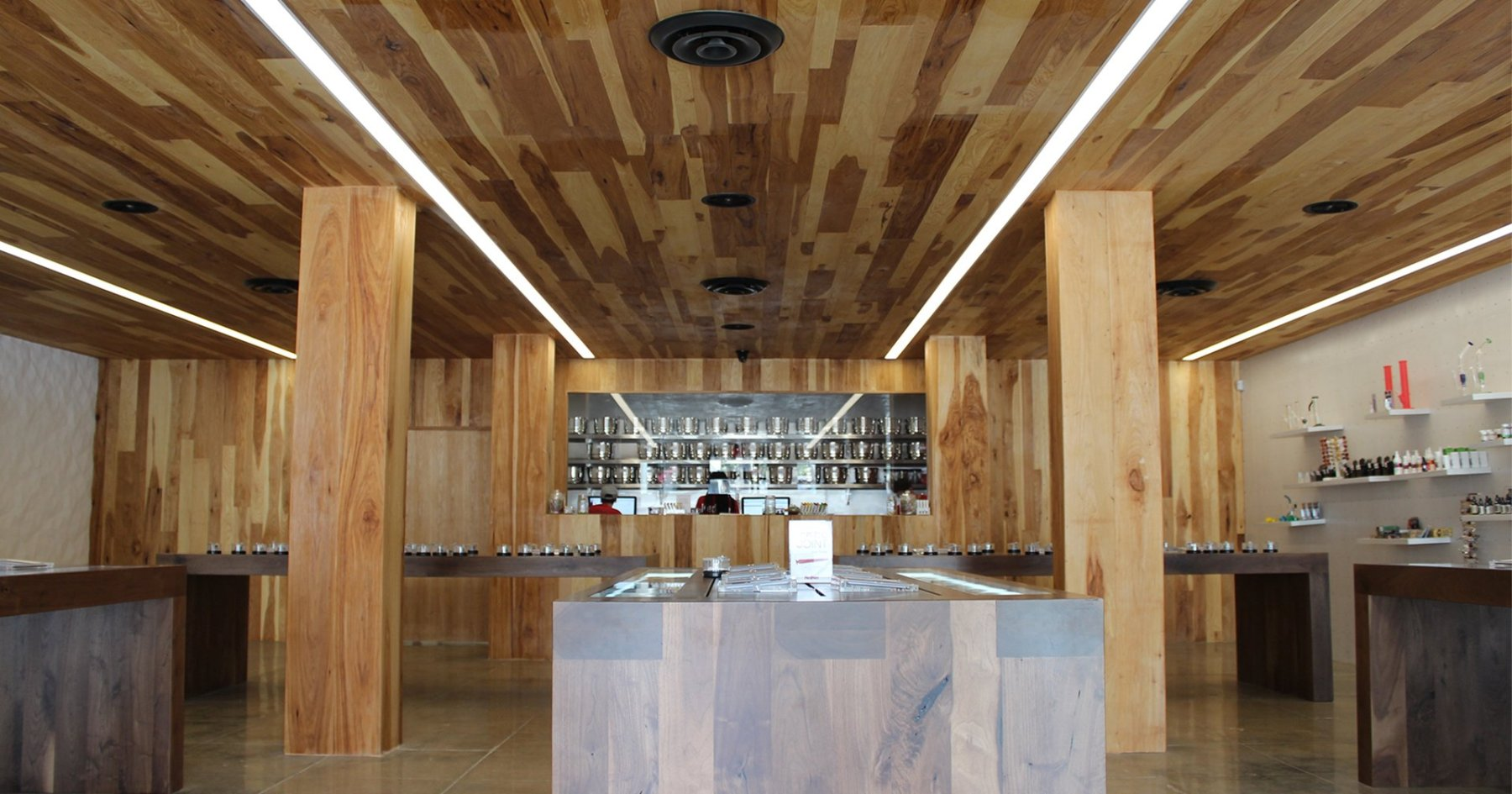 The Apple Store of Cannabis Just Opened