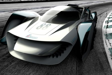 Is This Floating Concept Car the Future Of Racing?