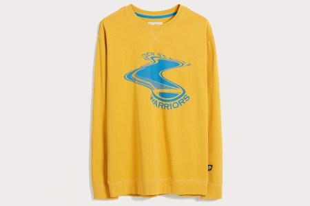 Frank And Oak NBA Twisted Logo Tee