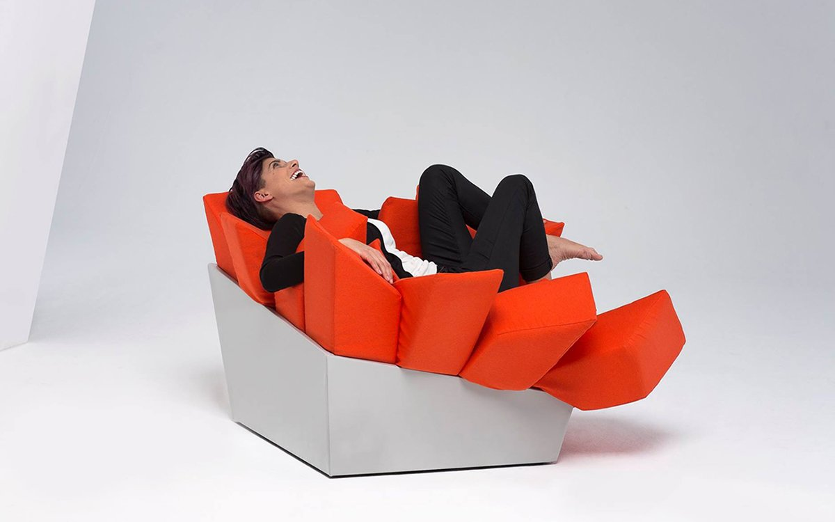 We Found the World's Comfiest Chair and It's a Box of Pillows