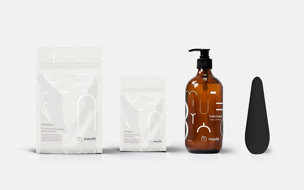 Maude Makes Sex Essentials for People Who Get Excited by Good Design