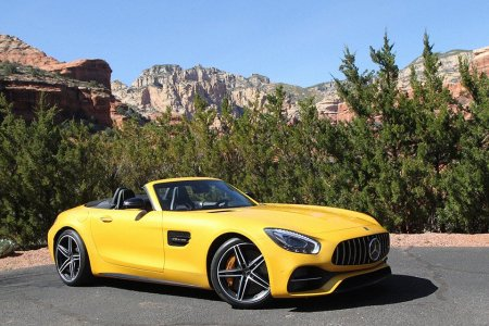 The New AMG GT Drives Like a Ferrari — at Half the Price