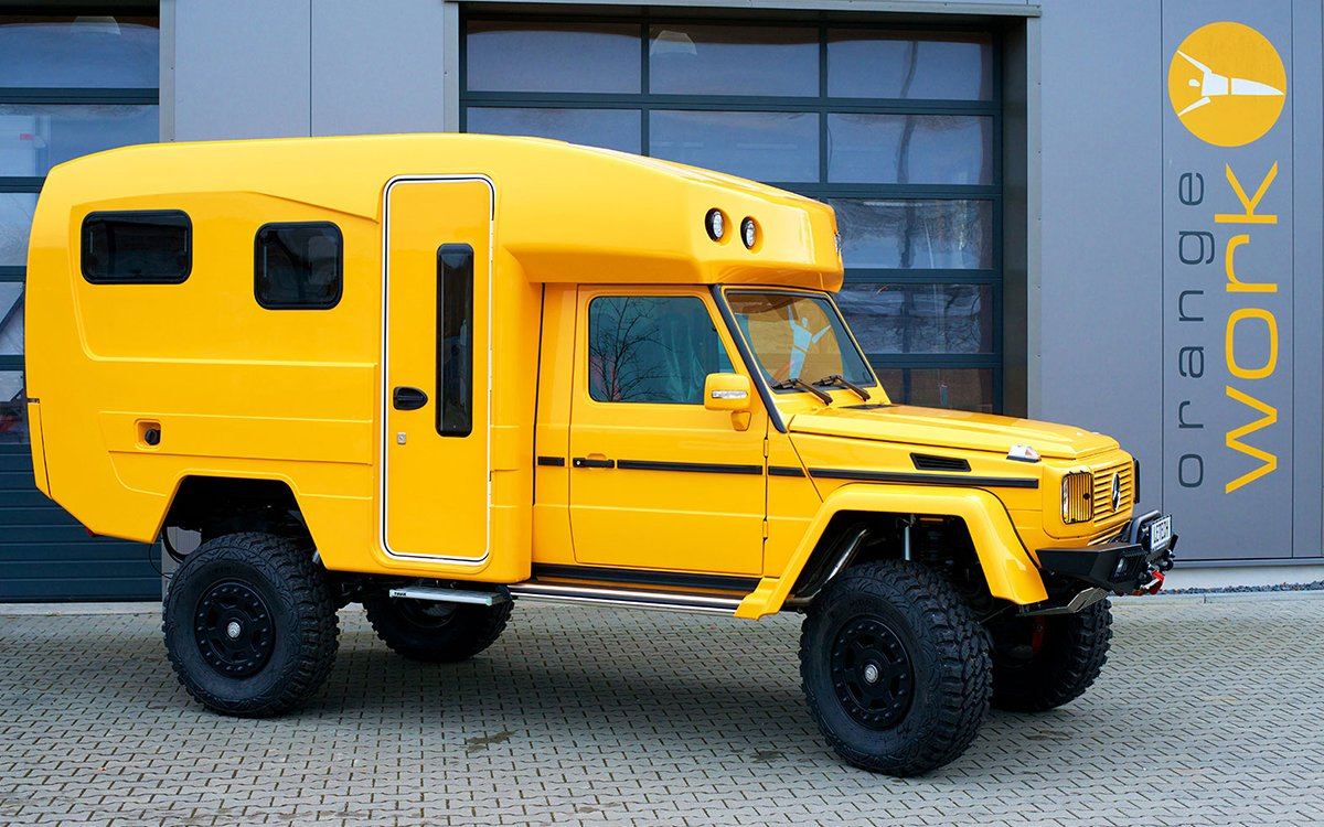 Does This Mercedes Camper Remind You of Anything?