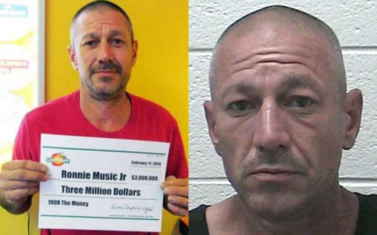Does This Look Like a Guy Who Spent His $3 Million Lotto Jackpot on Meth?
