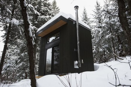 Welcome to 98 Square Feet of Pure, Unadulterated Cabin Porn