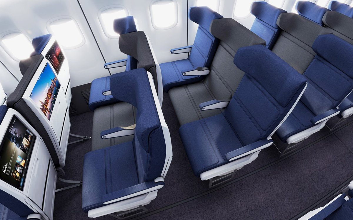 Proposed Redesign of the Despised Middle Seat Looks Pretty Good, Actually