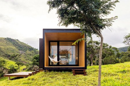 Found the World's Sexiest Pre-Fab Cabin