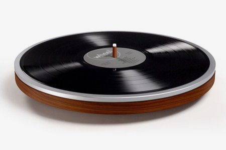 A Record Player So Wonderfully Simple You Can Hang It on the Wall