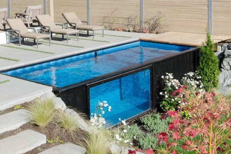 They're Making Pools Out of Shipping Containers Now
