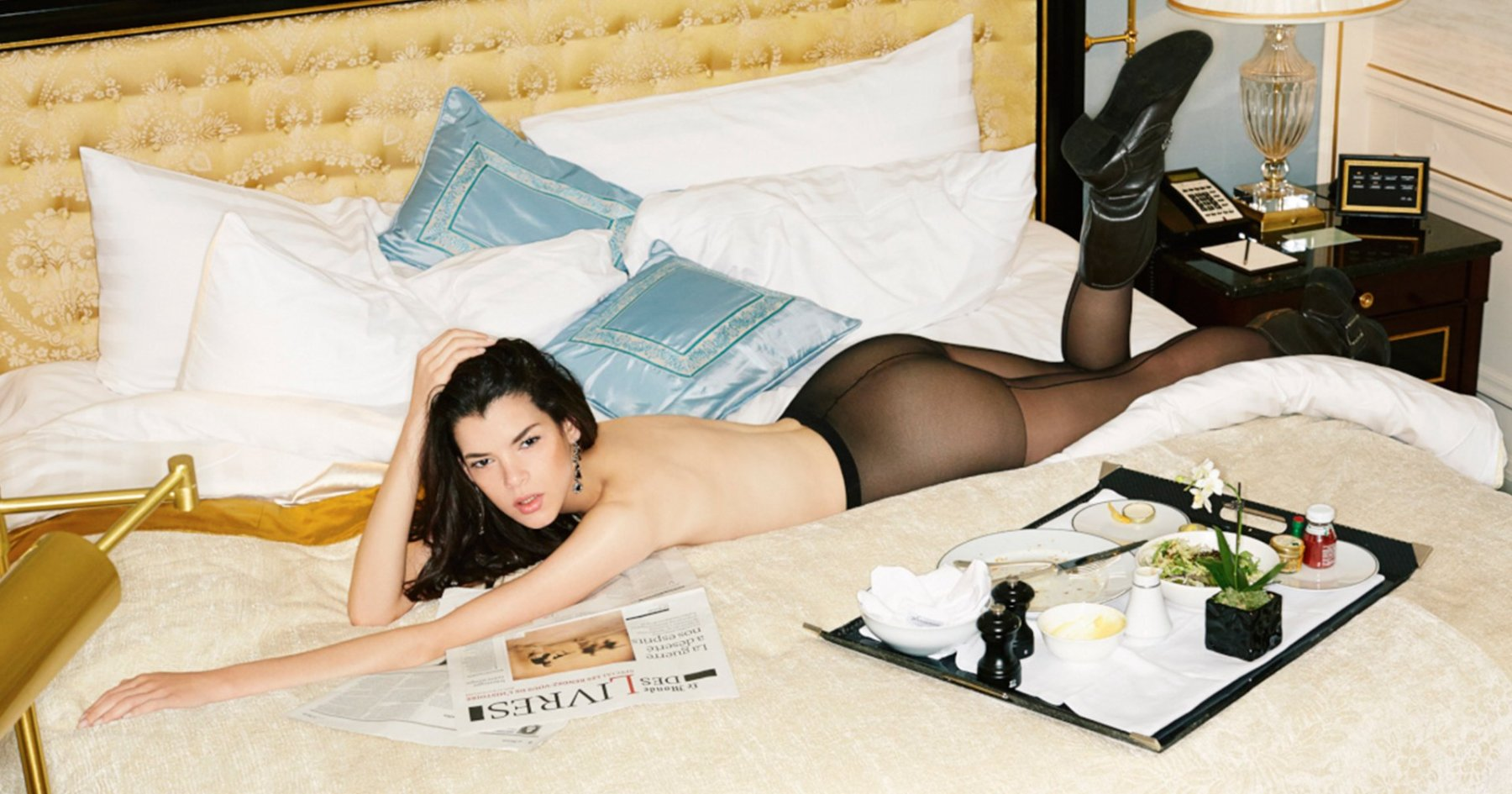 So That's What Models Do in Hotel Rooms…