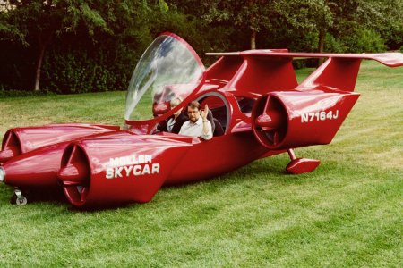 It's Not Exactly Mint, but This Flying Car Prototype Is for Sale