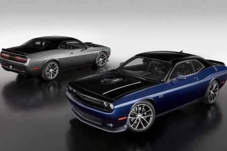 Dodge Is Having Twins. Black-and-Blue Limited-Edition Challenger Twins.