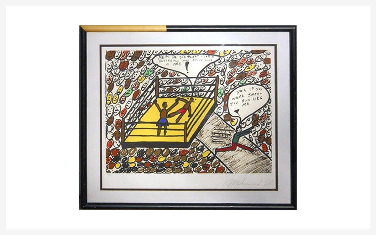 Muhammad Ali's Artwork Is Hitting the Auction Block