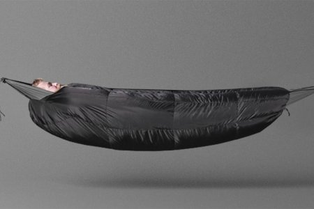 This Sleeping Bag Is a Tent and Also — Importantly — a Hammock