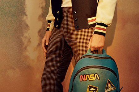 Coach's Retro NASA Line Wants to Dress You for the Moon and Back