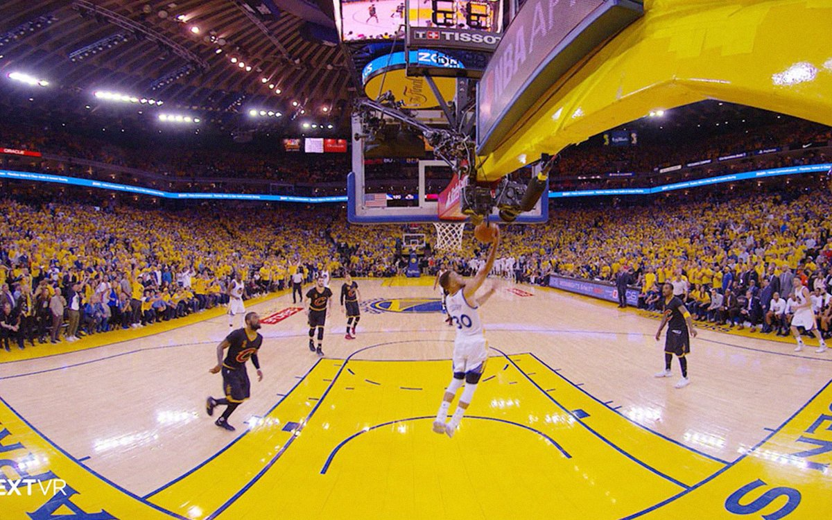You Can Watch All 30 NBA Teams in Virtual Reality This Season